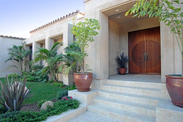 aaw doors Entry Mediterranean with addition AIA Architect beach