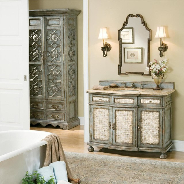 Ambella Home Spaces Eclectic with Ambella Home Sink Chest1
