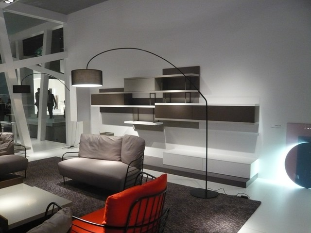 Arc Floor Lamp Family Room Contemporary with Categoryfamily Roomstylecontemporarylocationother Metro