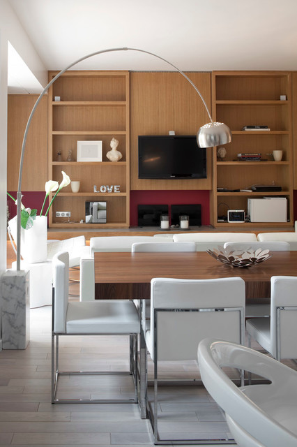 Arch Floor Lamp Dining Room Contemporary with Arching Floor Lamp Built