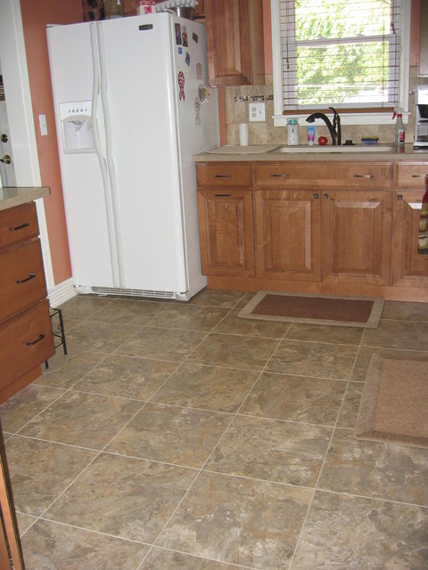 Armstrong Alterna Kitchen Traditional with Accent Backsplash Cabinets Countertops