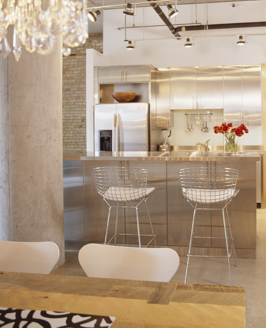 Ashley Furniture Bar Stools Kitchen Contemporary with Brick Butcher Block Table