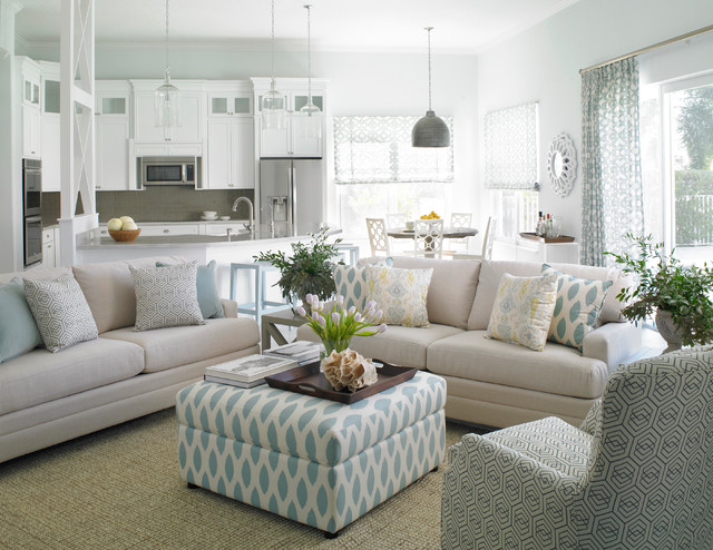 bassett furniture reviews Living Room Transitional with armchair blue accents dining
