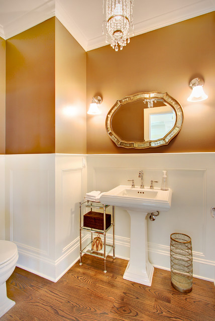 Bathroom Etagere Bathroom Traditional with Chandelier Crown Molding Tagre