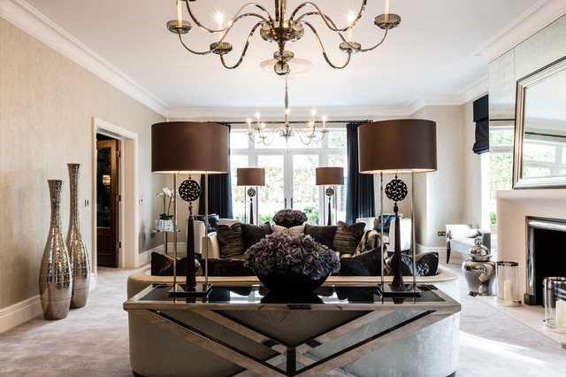 battery operated table lamps Living Room Contemporary with art glass lighting blown