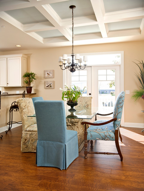 Beracah Homes Dining Room Craftsman with 9 Ft Ceiling Beracah1