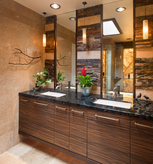 Bertch Cabinets Bathroom Contemporary with Bath and Spa Accessories3