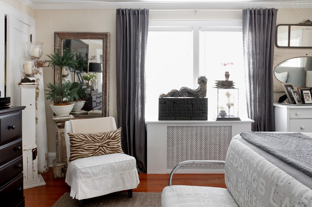 Black Out Blinds Bedroom Eclectic with My Houzz 1