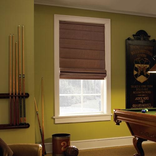 black out blinds Family Room Traditional with black blinds black window
