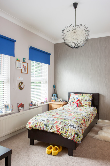 Black Out Blinds Kids with Boys Bedroom Carpet Childs