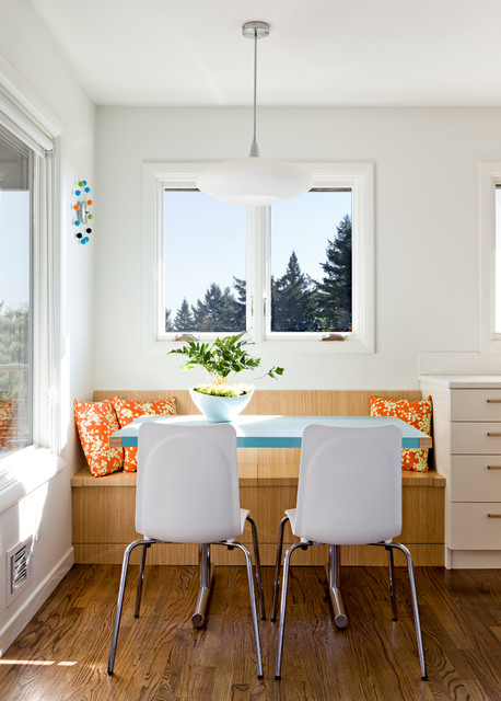 Breakfast Nook Bench Dining Room Contemporary with Banquette Bench Blue Blue