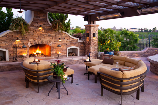 Breville Pizza Maker Patio Mediterranean with Contemporary Outdoor Sectional Covered
