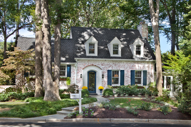 Brick Mailbox Exterior Traditional with Arch Entryway Arched Entry