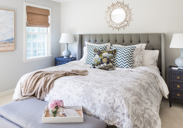 Bud Vases Bedroom Transitional with Abstract Art Anthropologie Bed