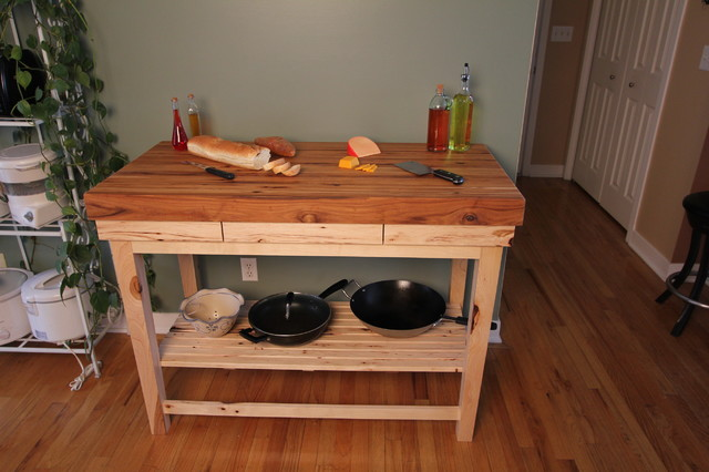 Butcher Block Kitchen Cart Kitchen Craftsman with Butcher Block Chiefs Custom4