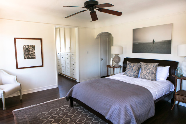 Campaign Dresser Bedroom Traditional with Area Rug Bamboo Beach