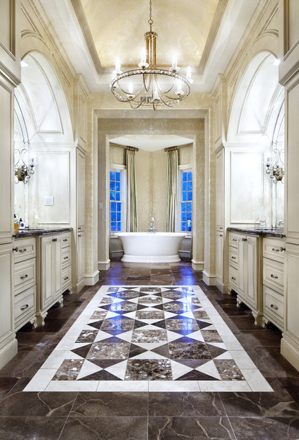 Candice Olson Bathroom Traditional with Accent Tile Alcove Baseboards