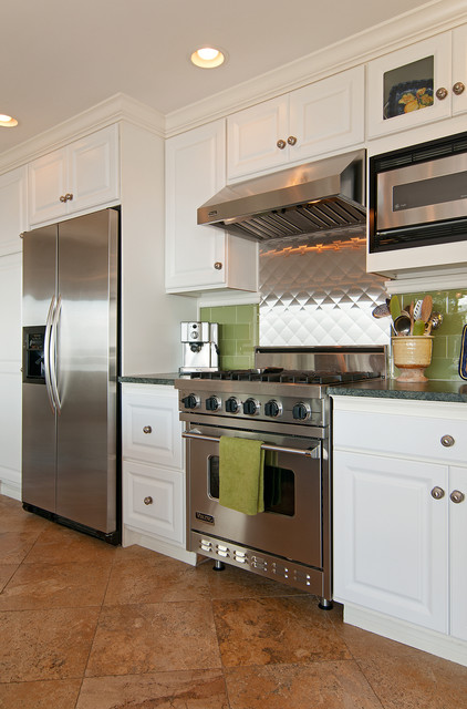 Canyon Creek Cabinets Kitchen Eclectic with Stainless Steel Stainless Steel