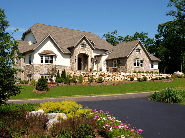 Certainteed Landmark Exterior Traditional with Arched Opening Arched Window
