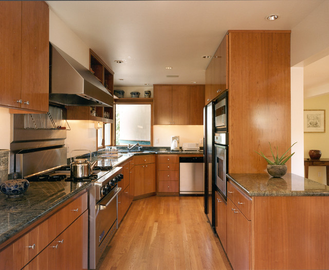 Cheap Granite Countertops Kitchen Modern with Beige Wall Built in Bench