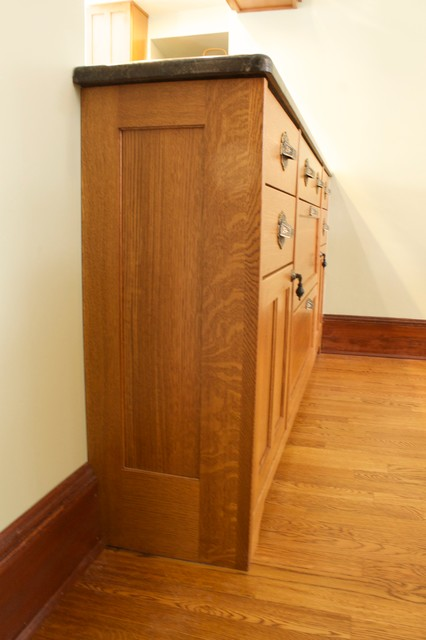 Chelsea Lumber Kitchen Craftsman with Buffet Dining Hutch Finished