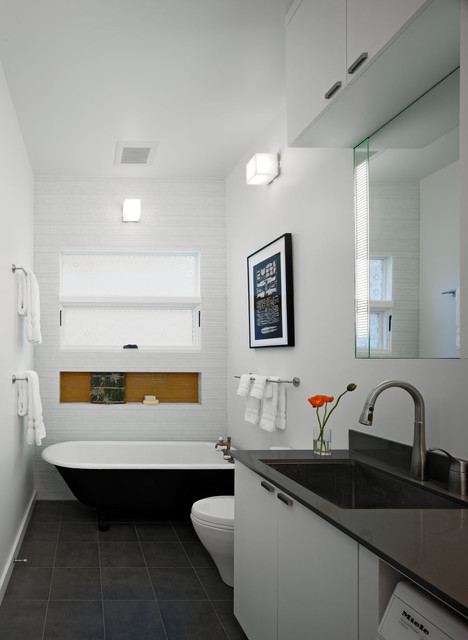 Clawfoot Tubs Bathroom Contemporary with Bathtub Built in Shelf Clawfoot