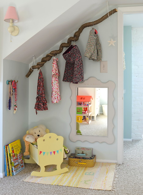 Clothes Hanger Rack Kids Contemporary with Attic Bedroom Clothes Hanger