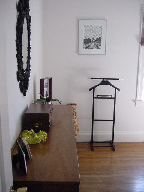 Clothes Valet Bedroom Eclectic with Bedroom Dresser Black And
