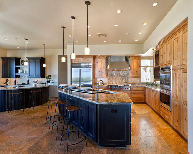 Cork Flooring Reviews Kitchen Contemporary with Bar Barstools Ceiling Lights