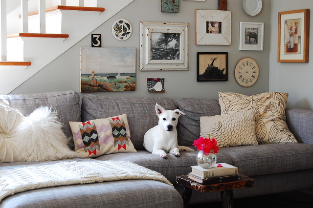 Couches Ikea Living Room Eclectic with Antiques Asheville Colorful Pillows7