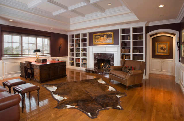 Cow Hide Rugs Family Room Traditional with Animal Hide Rug Arch