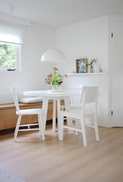 Credenza Ikea Dining Room Scandinavian with Dining Pendant Floating Shelf
