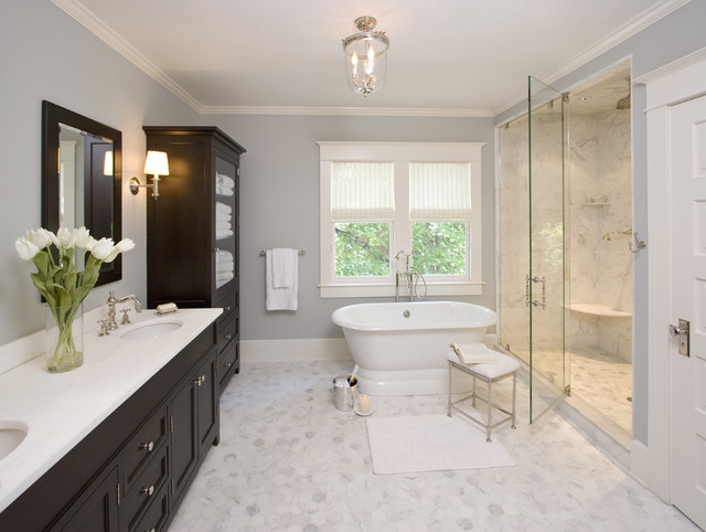 Cultured Marble Shower Bathroom Traditional with Bathroom Lighting Bathroom Storage