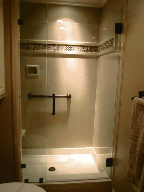cultured marble shower Bathroom Traditional with ceramic tile cultured marble