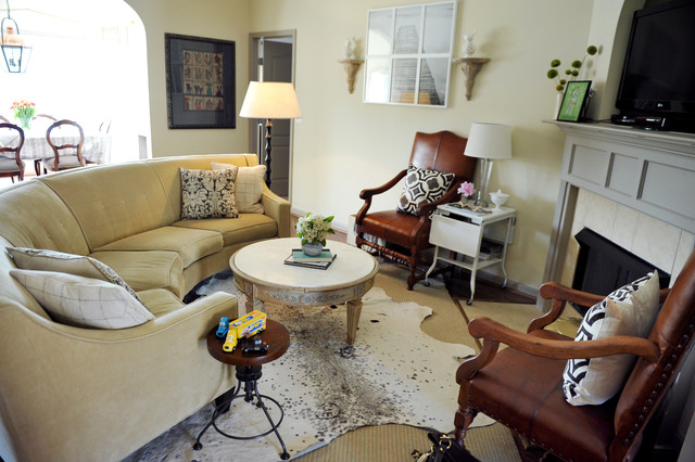 Curved Sectional Sofa Living Room Eclectic with Area Rug Corner Fireplace