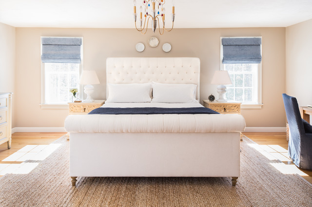 Dash and Albert Rugs Bedroom Transitional with Alabaster Lamps Art Work