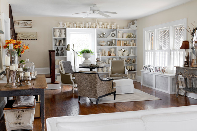 Dash and Albert Rugs Family Room Shabby Chic with Area Rug Armchairs Built