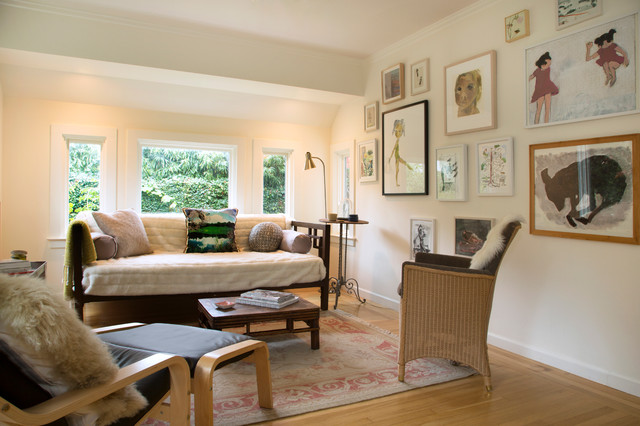 Daybed Couch Living Room Eclectic With My Houzz