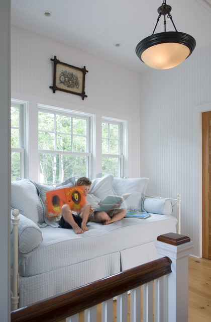 daybeds with trundle Kids Traditional with cottage living dark wood