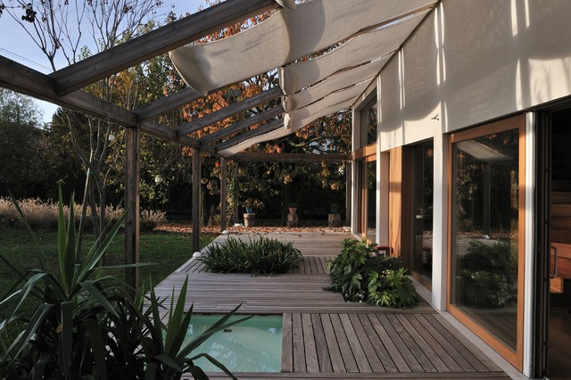 Deck Awnings Deck Modern with Custom Made Forniture Deck