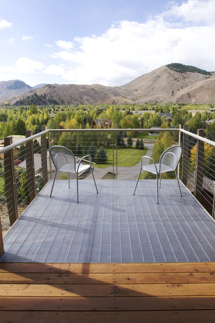 Deck Railing Designs Deck Modern with Balcony Bar Grate Cable1