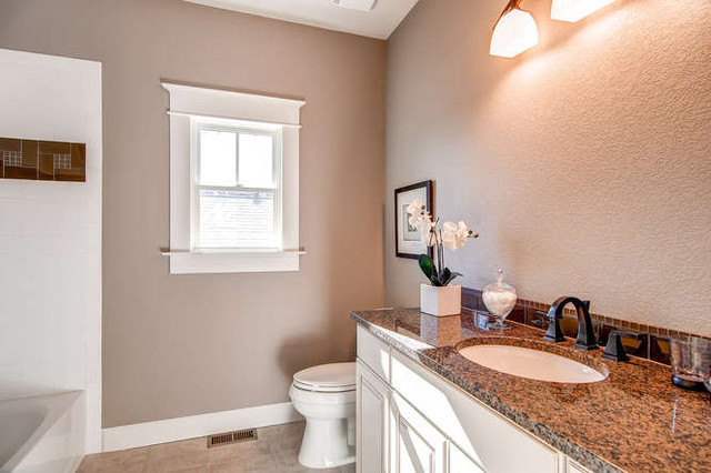 Delta Dryden Bathroom Traditional With Bronze Faucet