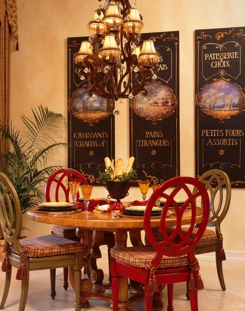 Dinette Set Dining Room Eclectic with Art Breakfast Nook Breakfast