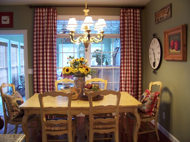 Dinette Set Dining Room Farmhouse with Breakfast Room Centerpiece Chairs