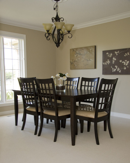 Dinette Sets Dining Room Contemporary with Design Home Staging Real