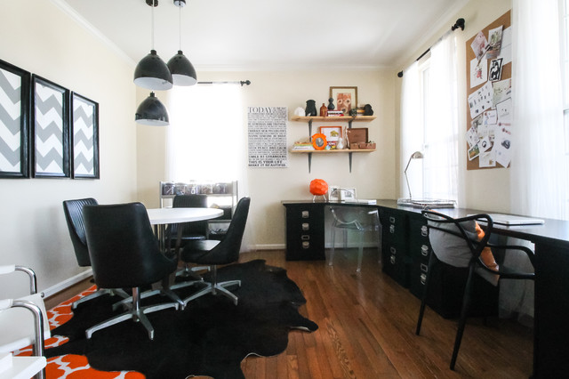 dinette sets Home Office Eclectic with My Houzz