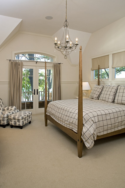 Drapery Rings Bedroom Traditional with Master Bedroom Poster Bed