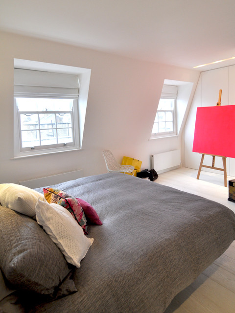 Drawing Easel Bedroom Scandinavian with Abstract Art Artwork Bespoke