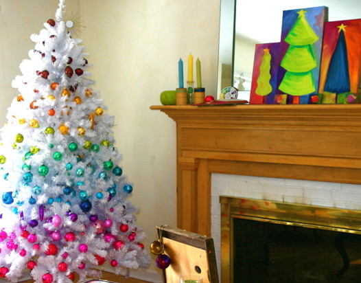 Dustpan Family Room Eclectic with Christmas Colorful Home Opendoor