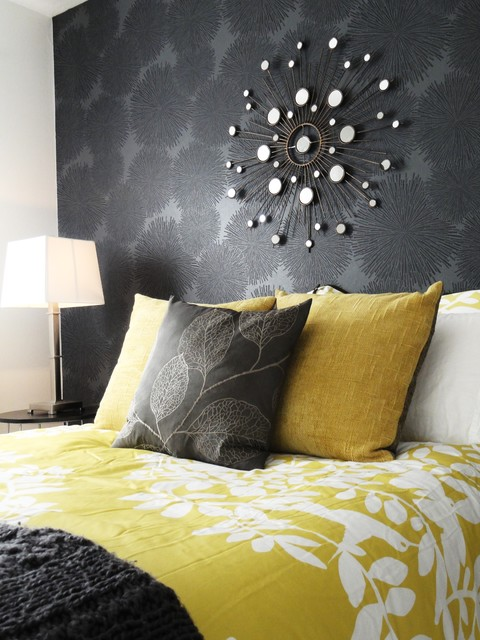 Duvet Cover Definition Bedroom Contemporary with Accent Wall Black Wall